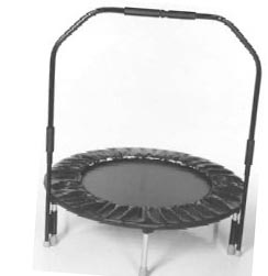 Needak Rebounder with Stabilizing Bar